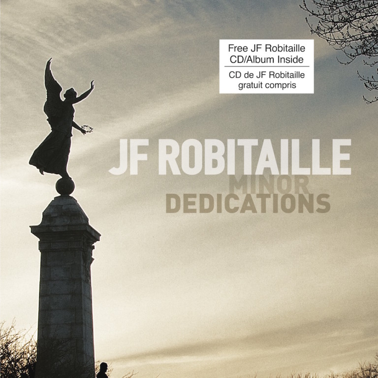JF Robitaille Minor Dedications Book Cover