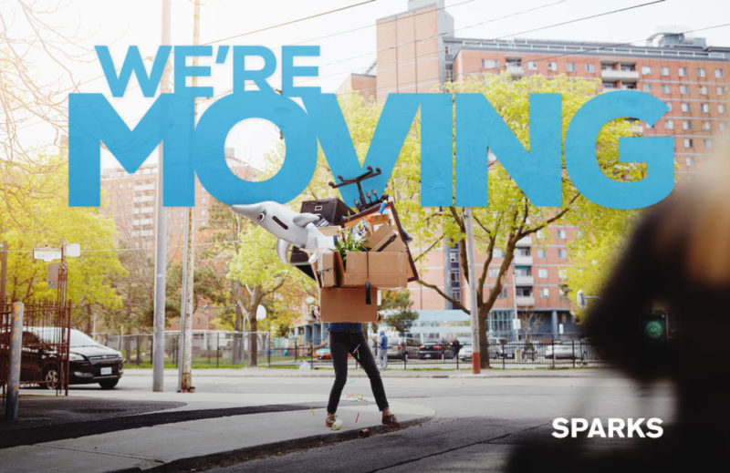 Sparks Music moving